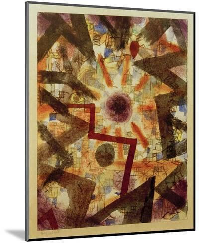 And There Was Light-Paul Klee-Mounted Giclee Print