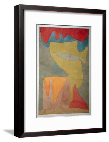 Young Lady-Paul Klee-Framed Art Print