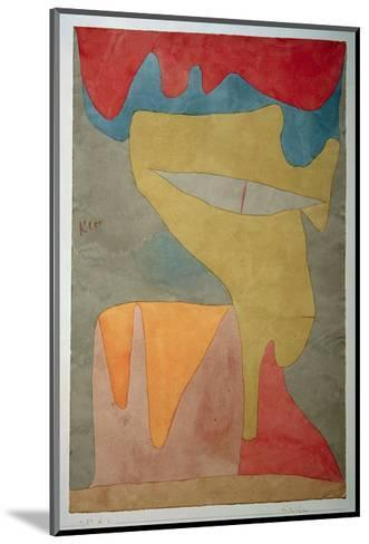 Young Lady-Paul Klee-Mounted Giclee Print