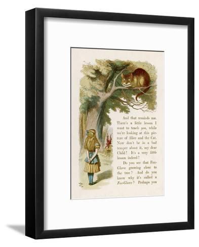 Little Lesson--Framed Art Print