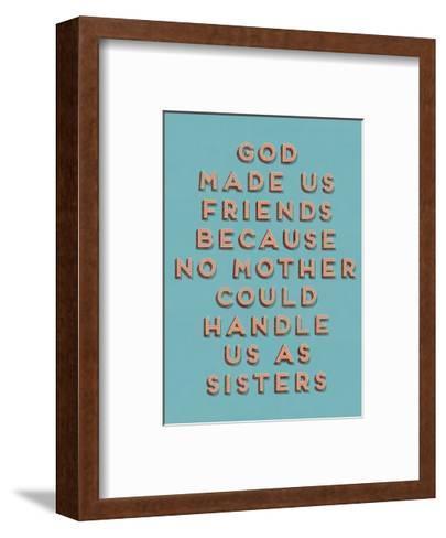 No Mother--Framed Art Print