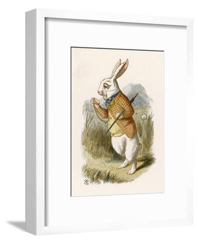 Hare--Framed Art Print