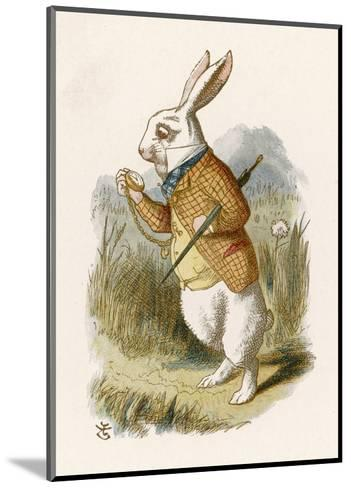 Hare--Mounted Art Print