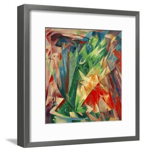 Birds-Franz Marc-Framed Art Print