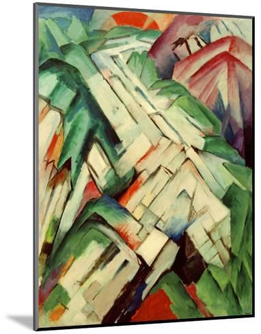 The Stony Path-Franz Marc-Mounted Giclee Print
