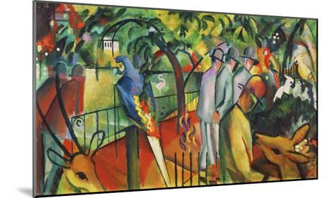 Zoological Garden I-Franz Marc-Mounted Giclee Print