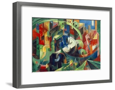 Painting with Cows I-Franz Marc-Framed Art Print