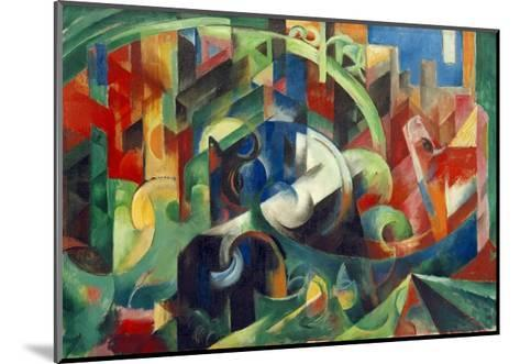 Painting with Cows I-Franz Marc-Mounted Giclee Print