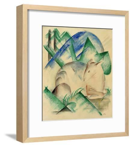 Red Deer-Franz Marc-Framed Art Print