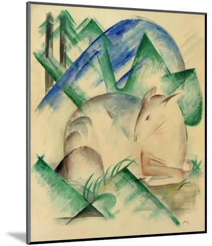 Red Deer-Franz Marc-Mounted Giclee Print