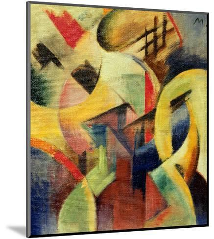 Small composition I-Franz Marc-Mounted Giclee Print