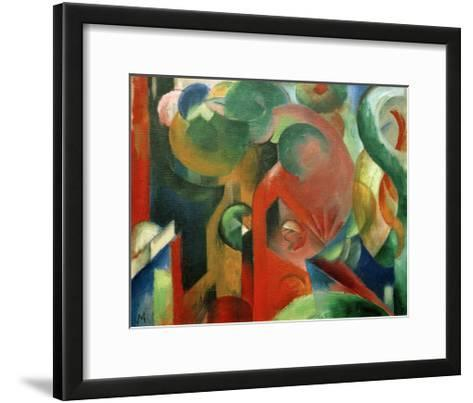 Small Composition III-Franz Marc-Framed Art Print