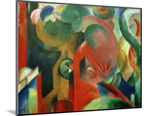 Small Composition III-Franz Marc-Mounted Giclee Print
