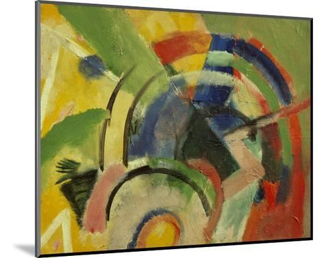 Small composition IV-Franz Marc-Mounted Giclee Print