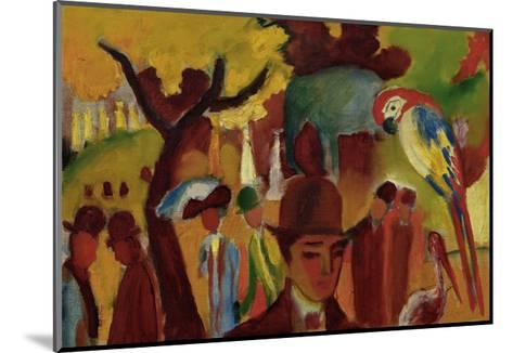 Small Zoological Garden-Franz Marc-Mounted Giclee Print