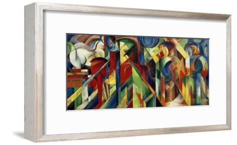 Stables-Franz Marc-Framed Art Print