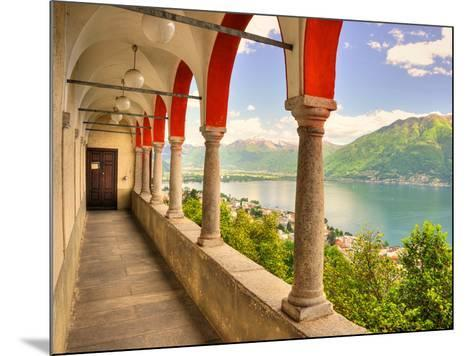 Summer on Lake Maggiore--Mounted Art Print