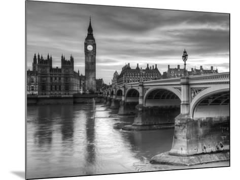 The House of Parliament and Westminster Bridge-Grant Rooney-Mounted Art Print