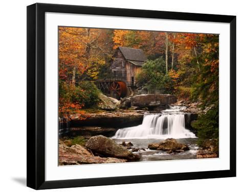 Glade Creek Mill, West Virginia--Framed Art Print