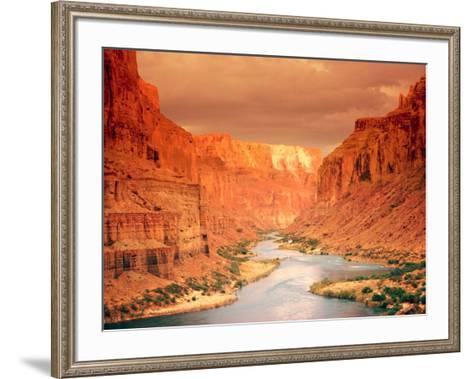 Grand Canyon At Sunset Framed Art Print By Art
