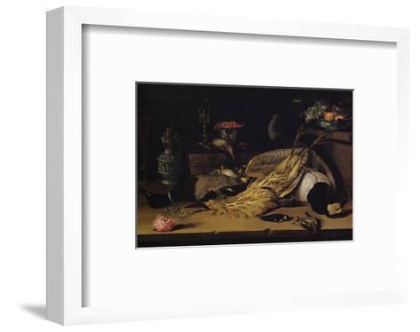 Still Life with Dead Birds-Christoffel van den Berghe-Framed Art Print