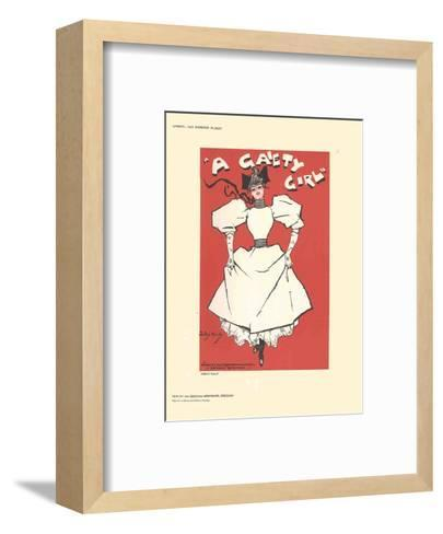 A Gaiety Girl-Dudley Hardy-Framed Art Print