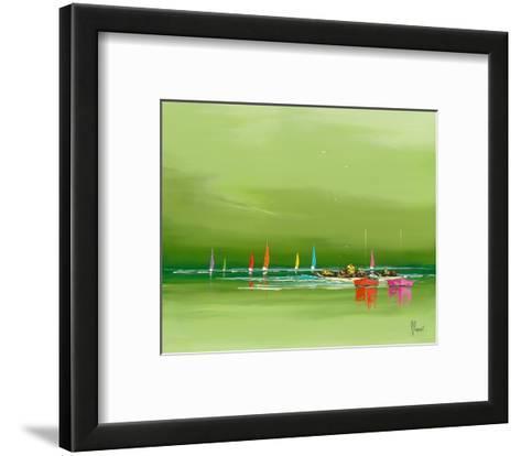 Avant l´orage-Fr?d?ric Flanet-Framed Art Print