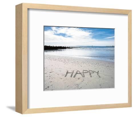 Happy-Assaf Frank-Framed Art Print