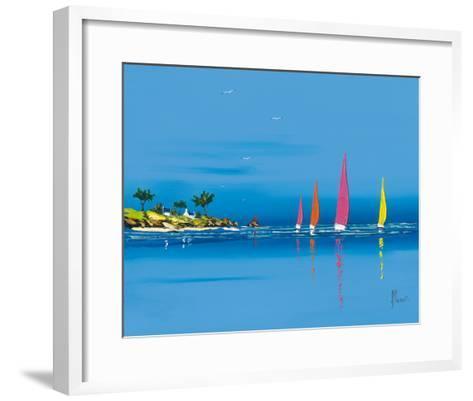 Jour de r?gate I-Fr?d?ric Flanet-Framed Art Print