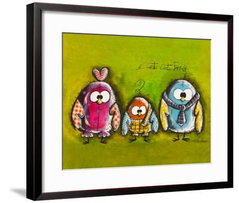 Cot Cot Family-Carine Mougin-Framed Art Print