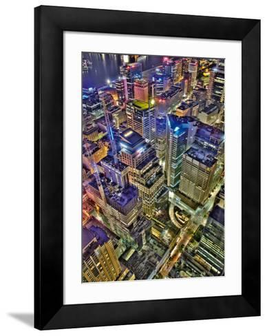 Sydney´s Skyline-Aur?lien Terrible-Framed Art Print
