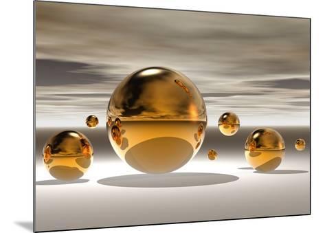 Golden Bowl II-Peter Hillert-Mounted Art Print