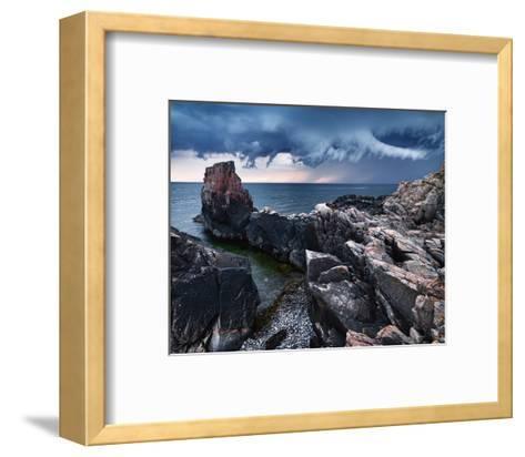 Approaching Storm-Hans Strand-Framed Art Print