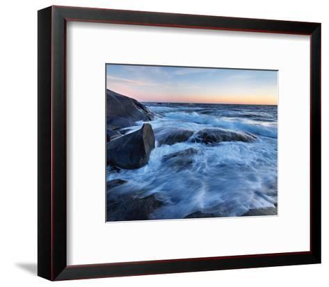 Skagerack Coast-Hans Strand-Framed Art Print