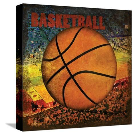 Basketball Square II-Denise Tedeschi-Stretched Canvas Print