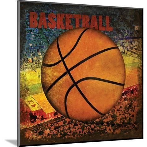 Basketball Square II-Denise Tedeschi-Mounted Art Print
