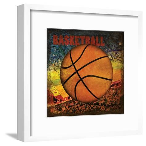 Basketball Square II-Denise Tedeschi-Framed Art Print