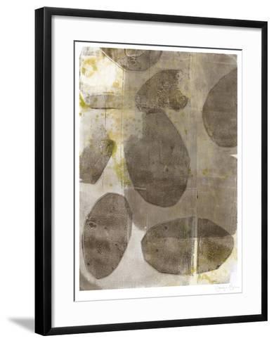 River Rock II-Jennifer Goldberger-Framed Art Print