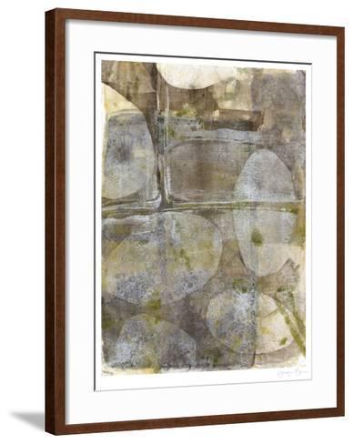 River Rock III-Jennifer Goldberger-Framed Art Print