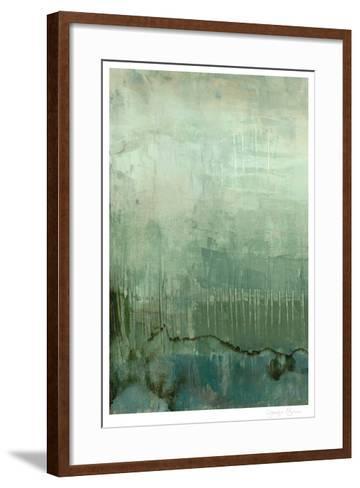 Emerald Sky I-Jennifer Goldberger-Framed Art Print
