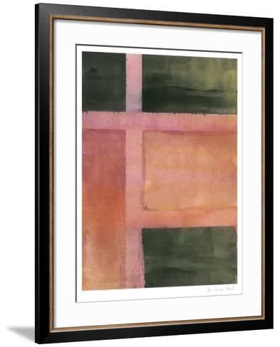 Charred Surfaces II-John Joseph Albert-Framed Art Print
