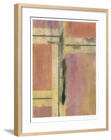 Charred Surfaces III-John Joseph Albert-Framed Art Print