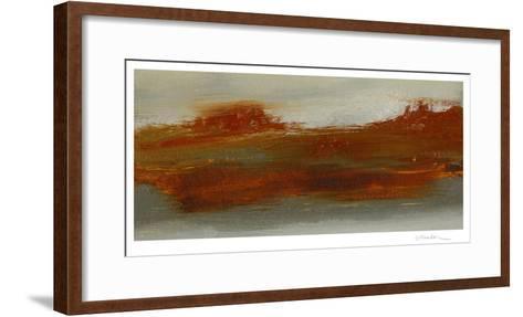 Red Horizon I-Sharon Gordon-Framed Art Print