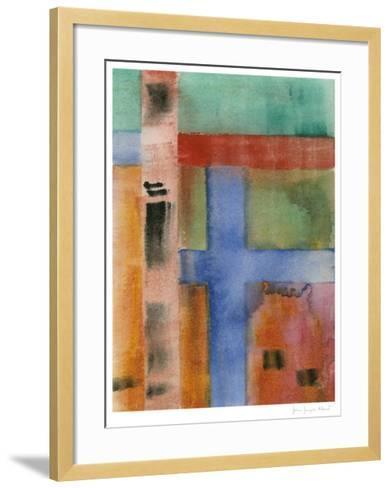 Charred Surfaces XI-John Joseph Albert-Framed Art Print