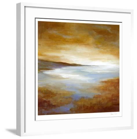 Amber Light I-Sheila Finch-Framed Art Print