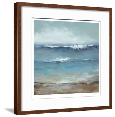 Home by the Sea-Christina Long-Framed Art Print