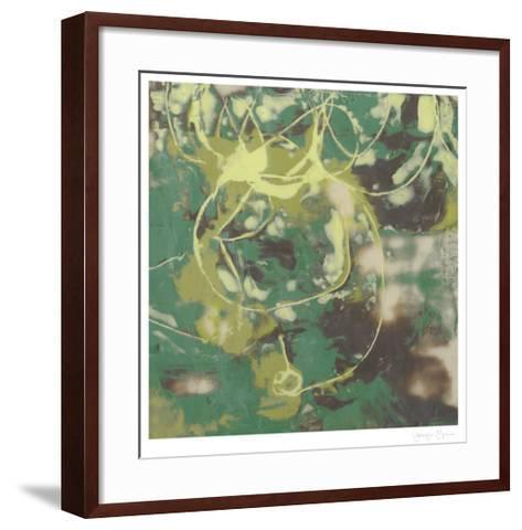 Entwined Emerald I-Jennifer Goldberger-Framed Art Print