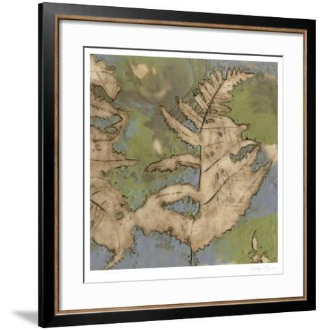 Fern Lake I-Jennifer Goldberger-Framed Art Print