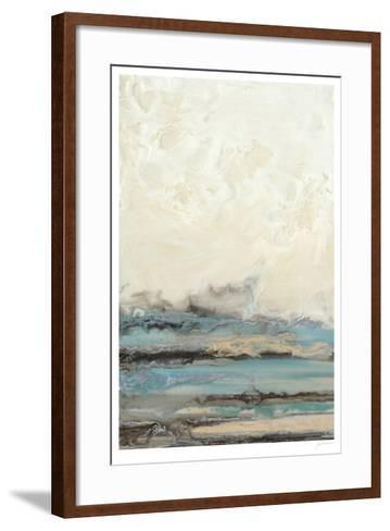 Aqua Seascape I-Ferdos Maleki-Framed Art Print