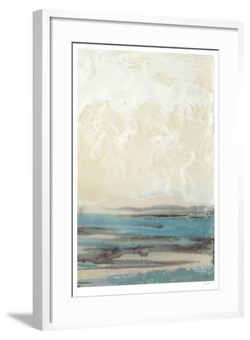 Aqua Seascape II-Ferdos Maleki-Framed Art Print